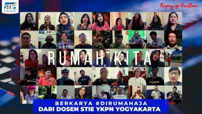 Cover Rumah Kita persembahan dari Dosen STIE YKPN Yogyakarta. Semangat berkarya #darirumahaja.