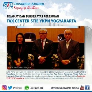 Peresmian Tax Center STIE YKPN Yogyakarta
