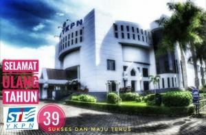 39 Tahun STIE YKPN .... Selamat Ulang Tahun Seluruh Civitas Akademika STIE YKPN Terus Berkarya di Nusantara Tercinta